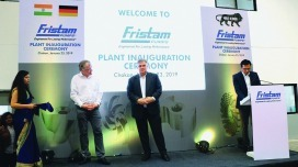 Abb.: Eröffnungszeremonie Fristam Pumps India in Pune.